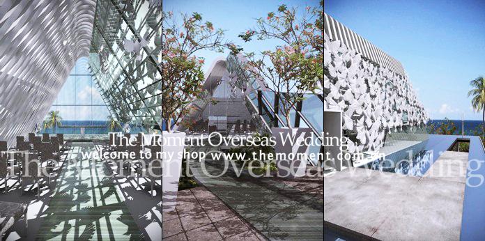 首页 海外婚礼  巴厘岛悦榕庄是一所全泳池的豪华别墅度假村,座落在